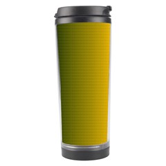 Yellow Gradient Background Travel Tumbler by Simbadda