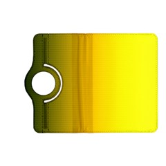 Yellow Gradient Background Kindle Fire Hd (2013) Flip 360 Case by Simbadda