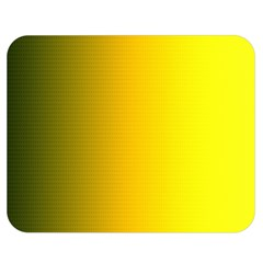 Yellow Gradient Background Double Sided Flano Blanket (medium)  by Simbadda