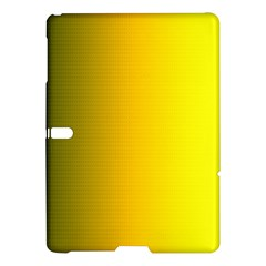 Yellow Gradient Background Samsung Galaxy Tab S (10 5 ) Hardshell Case  by Simbadda