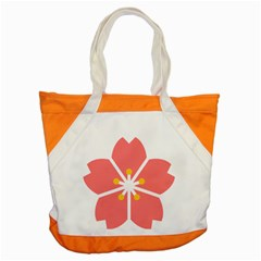 Sakura Heart Guild Flower Floral Accent Tote Bag by Alisyart