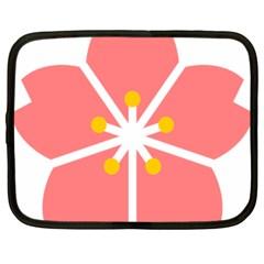 Sakura Heart Guild Flower Floral Netbook Case (large) by Alisyart