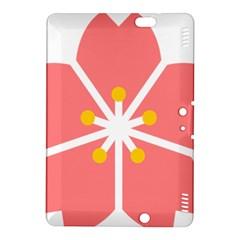 Sakura Heart Guild Flower Floral Kindle Fire Hdx 8 9  Hardshell Case by Alisyart