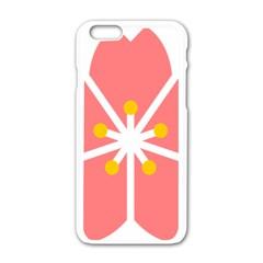 Sakura Heart Guild Flower Floral Apple Iphone 6/6s White Enamel Case by Alisyart