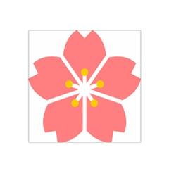 Sakura Heart Guild Flower Floral Satin Bandana Scarf by Alisyart