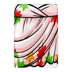Petal Pattern Dress Flower Samsung Galaxy Tab Pro 10 1 Hardshell Case by Alisyart