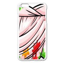 Petal Pattern Dress Flower Apple Iphone 6 Plus/6s Plus Enamel White Case by Alisyart