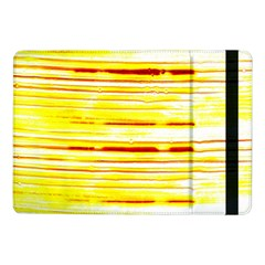 Yellow Curves Background Samsung Galaxy Tab Pro 10 1  Flip Case by Simbadda