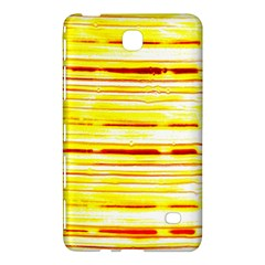 Yellow Curves Background Samsung Galaxy Tab 4 (8 ) Hardshell Case  by Simbadda