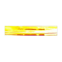 Yellow Curves Background Flano Scarf (mini) by Simbadda