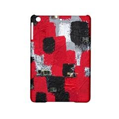 Red Black Gray Background Ipad Mini 2 Hardshell Cases by Simbadda