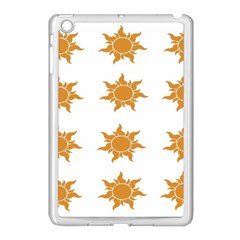 Sun Cupcake Toppers Sunlight Apple Ipad Mini Case (white) by Alisyart