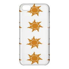 Sun Cupcake Toppers Sunlight Apple Iphone 5c Hardshell Case by Alisyart