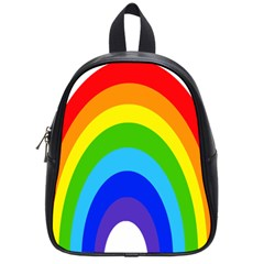 Rainbow School Bags (small)  by Alisyart