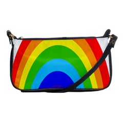 Rainbow Shoulder Clutch Bags by Alisyart