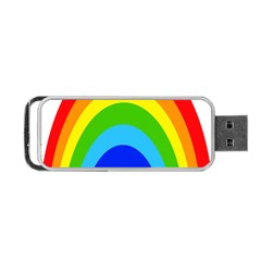 Rainbow Portable Usb Flash (one Side) by Alisyart