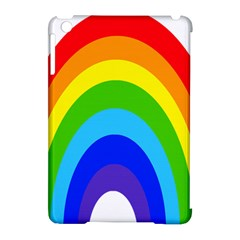 Rainbow Apple Ipad Mini Hardshell Case (compatible With Smart Cover) by Alisyart