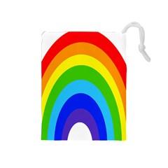 Rainbow Drawstring Pouches (medium)  by Alisyart