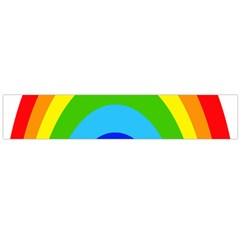 Rainbow Flano Scarf (large) by Alisyart
