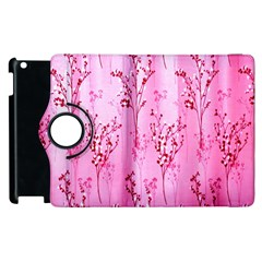 Pink Curtains Background Apple Ipad 2 Flip 360 Case