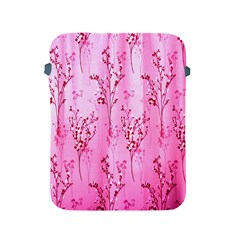Pink Curtains Background Apple Ipad 2/3/4 Protective Soft Cases by Simbadda