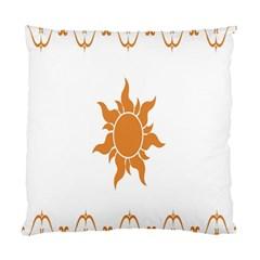 Sunlight Sun Orange Standard Cushion Case (two Sides) by Alisyart