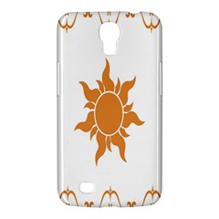 Sunlight Sun Orange Samsung Galaxy Mega 6 3  I9200 Hardshell Case by Alisyart