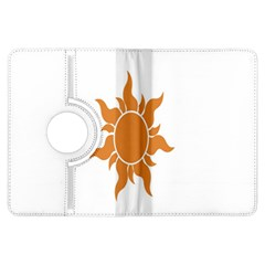 Sunlight Sun Orange Kindle Fire Hdx Flip 360 Case by Alisyart