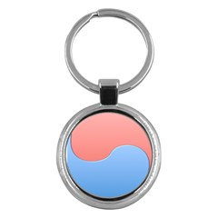 Taekwondo Sign Red Blue Key Chains (round)  by Alisyart
