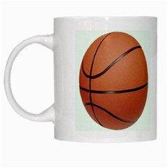 Basketball White Mug mug020 by jrmollerA