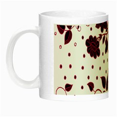 Floral Pattern Night Luminous Mugs by Simbadda