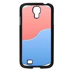 Taekwondo Sign Red Blue Samsung Galaxy S4 I9500/ I9505 Case (black) by Alisyart