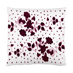 Floral Pattern Standard Cushion Case (one Side) by Simbadda