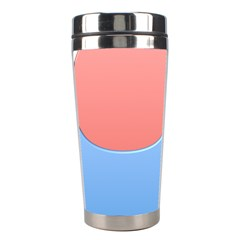 Taekwondo Sign Red Blue Stainless Steel Travel Tumblers by Alisyart