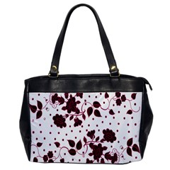 Floral Pattern Office Handbags by Simbadda