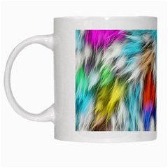 Fur Fabric White Mugs by Simbadda