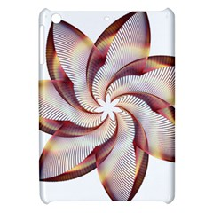 Prismatic Flower Line Gold Star Floral Apple Ipad Mini Hardshell Case by Alisyart