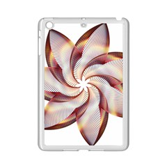 Prismatic Flower Line Gold Star Floral Ipad Mini 2 Enamel Coated Cases by Alisyart