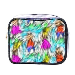 Fur Fabric Mini Toiletries Bags by Simbadda