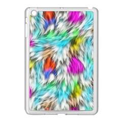 Fur Fabric Apple Ipad Mini Case (white) by Simbadda