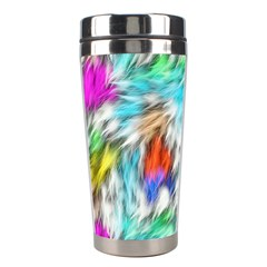 Fur Fabric Stainless Steel Travel Tumblers by Simbadda