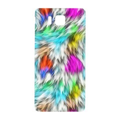 Fur Fabric Samsung Galaxy Alpha Hardshell Back Case by Simbadda