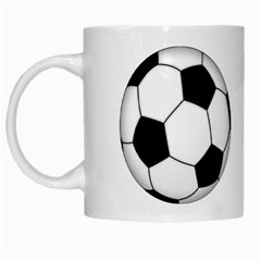 Soccer ball White Mug mug022 by jrmollerA