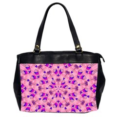 Mandala Tiling Office Handbags (2 Sides)  by Simbadda