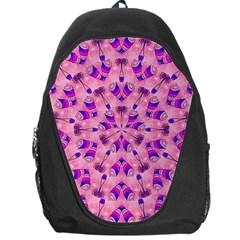 Mandala Tiling Backpack Bag by Simbadda