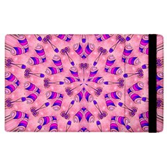 Mandala Tiling Apple Ipad 2 Flip Case by Simbadda