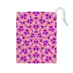 Mandala Tiling Drawstring Pouches (large)  by Simbadda