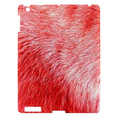 Pink Fur Background Apple Ipad 3/4 Hardshell Case by Simbadda
