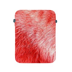 Pink Fur Background Apple Ipad 2/3/4 Protective Soft Cases by Simbadda