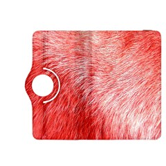 Pink Fur Background Kindle Fire Hdx 8 9  Flip 360 Case by Simbadda
